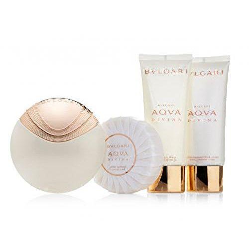 Bvlgari Aqva Divina - EDT 65 ml + tělové mléko 100 ml + sprchový gel 100 ml + mýdlo 150 g