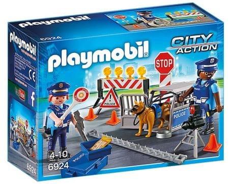 Playmobil 6924 Policajná zátarasa