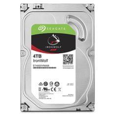 Seagate trdi disk NAS IronWolf, 4 TB, SATA 3, 6Gb/s, 64MB