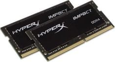 Kingston pomnilnik (RAM) HyperX Impact DDR4 32GB 2400MHz SODIMM (HX424S14IBK2/32)