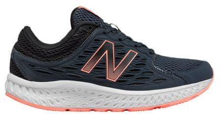 New Balance tekaški copati W420LG3, črni/oranžni, 41