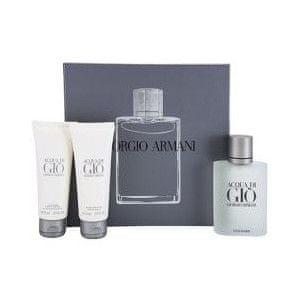 Giorgio Armani Acqua Di Gio Pour Homme - EDT 100 ml + sprchový gel 75 ml + balzám po holení 75 ml
