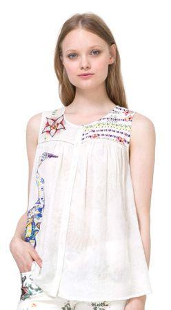 Desigual ženska bluza Circinus XL smetane