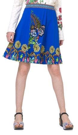 Desigual spódnica damska Henry S niebieski