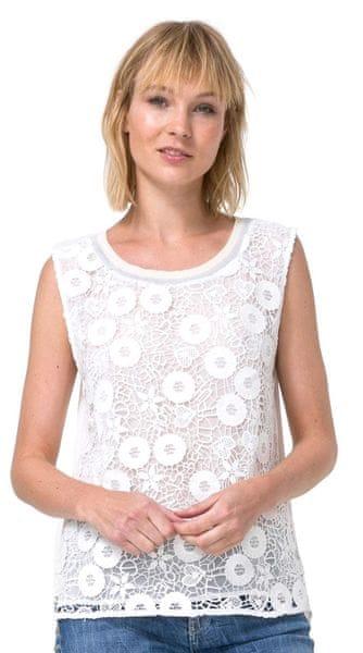 Desigual dámské tílko White 3 M bílá