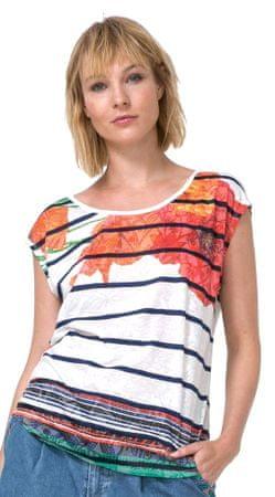 Desigual dámské tričko Macarena M vícebarevná