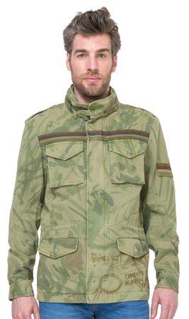 Desigual moška jakna Quepi S zelena