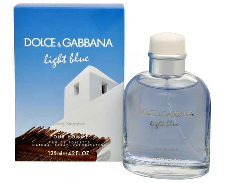 Dolce & Gabbana Light Blue Pour Homme Living Stromboli - EDT 125 ml