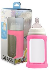 Cherub Baby Üveg cumisüveg - rózsaszín