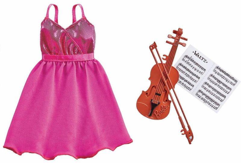 Mattel Barbie Profesní oblečení houslistka