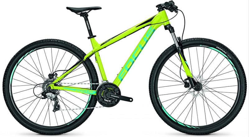 "Focus 29"" DI Whistler Elite 29R 24G Limegreen/Black 50/L (19,7"")"