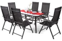 Home&Garden meble ogrodowe aluminiowe IBIZA Basic - Black / Black