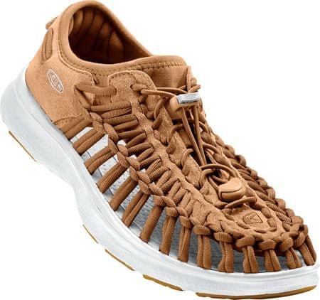 KEEN moški čevlji Uneek O2, rjavi/beli, 42