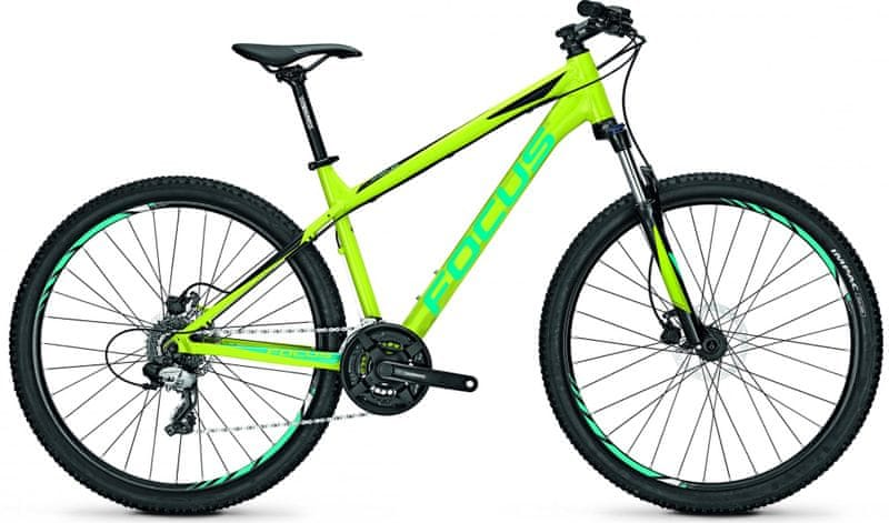 "Focus 27"" DI Whistler Elite 27R 24G Limegreen/Black 40/S (15,7"")"