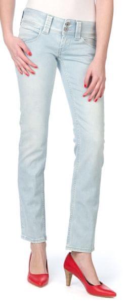 Pepe Jeans dámské jeansy Venus 30/32 modrá