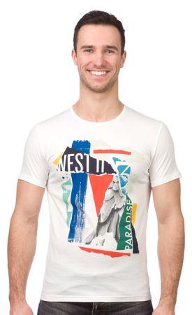 Pepe Jeans moška majica Kwesi XL smetane
