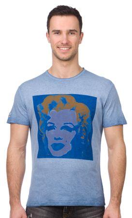 Pepe Jeans T-shirt męski Portrait XL niebieski