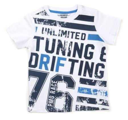 Primigi T-shirt chłopięcy 122 biały