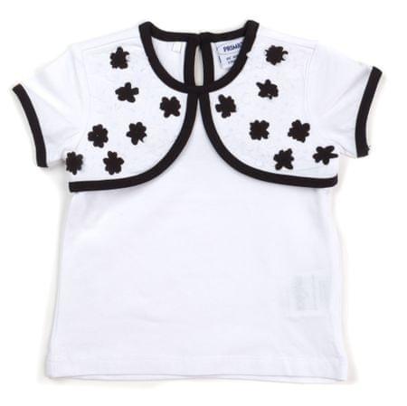 Primigi dívčí tričko 74 biela