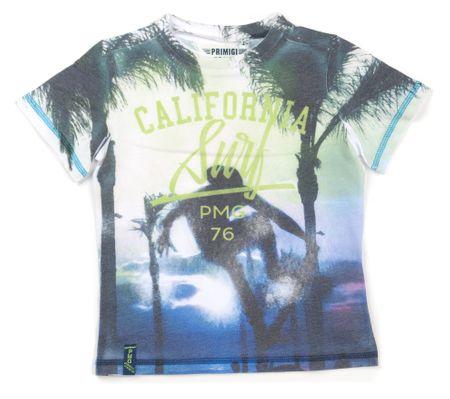 Primigi T-shirt chłopięcy 98 biały