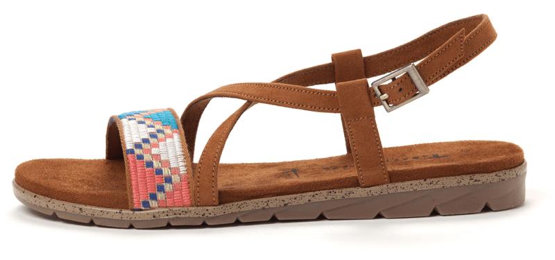 Tamaris dámské sandály 41 hnědá