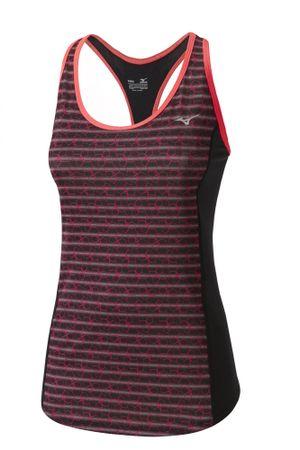 Mizuno ženska majica Multi Kemari Tank Black Diva Pink, XL
