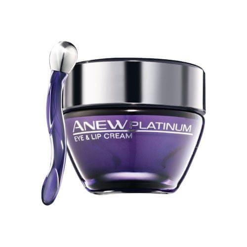 Avon Krém na oční okolí a rty Anew Platinum (Eye & Lip Cream) 15 ml