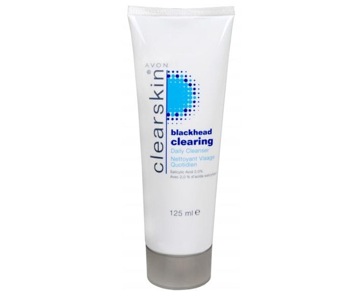 Avon Čisticí pleťový gel proti akné a černým tečkám Blackhead Clearing (Daily Cleanser) 125 ml