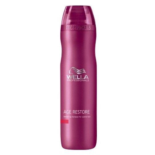 Wella Professional Šampon proti stárnutí vlasů Age Restore (Restoring Shampoo For Coarse Hair) 250 ml