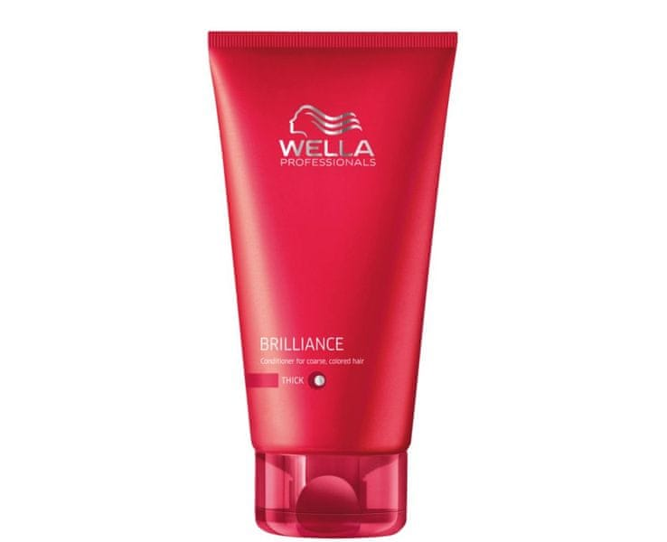 Wella Professional Kondicionér pro silné barvené vlasy Brilliance (Conditioner For Coarse Colored Hair) (Objem 1000 ml)