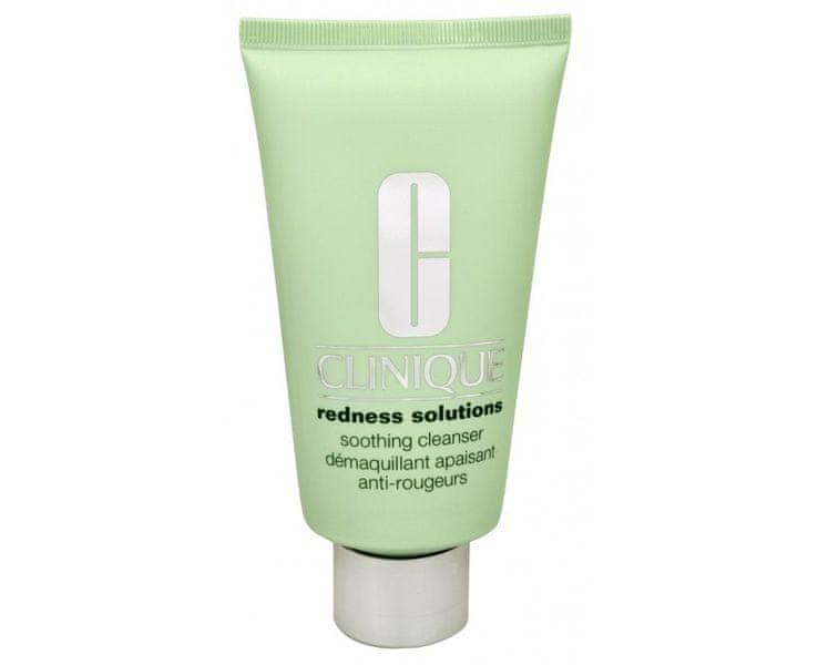 Clinique Zklidňující čistící krémový gel proti zarudnutí pleti Redness Solutions (Soothing Cleanser) 150 ml