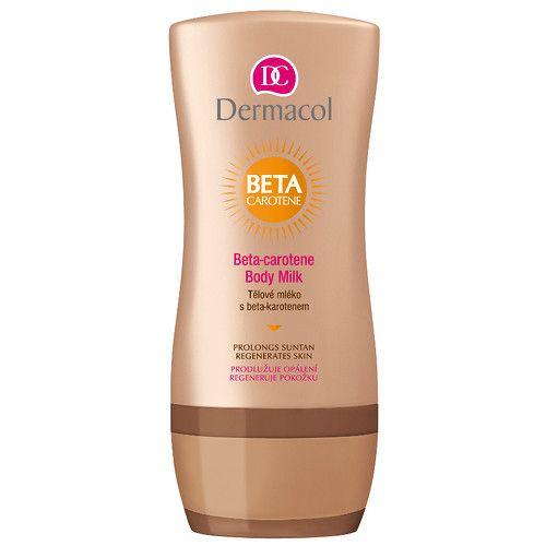 Dermacol Tělové mléko po opalování s beta-karotenem (Beta-Carotene Body Milk) 200 ml