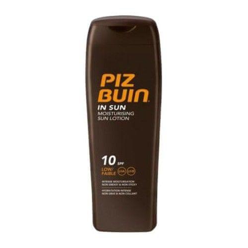 PizBuin Mléko na opalování SPF 10 (In Sun Moisturising Sun Lotion) 200 ml