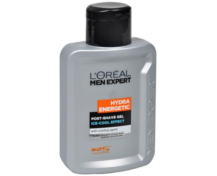 L'Oréal Gel po holení s efektem ledového osvěžení Men Expert (Hydra Energetic) 100 ml