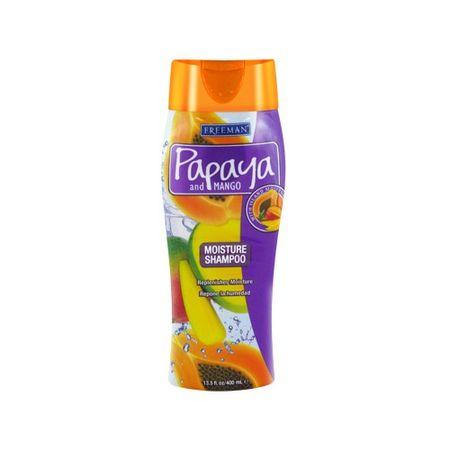 Freeman Hydratačný šampón s papájou a mangom (Massive Moisture Shampoo) 400 ml