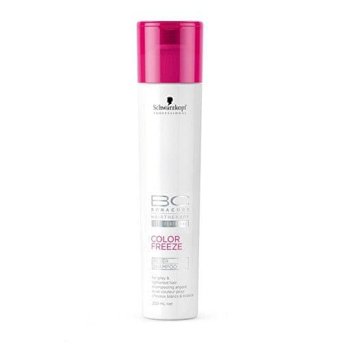 Schwarzkopf Prof. Šampon se stříbrnými reflexy BC Color Freeze (Silver Shampoo) (Objem 1000 ml)