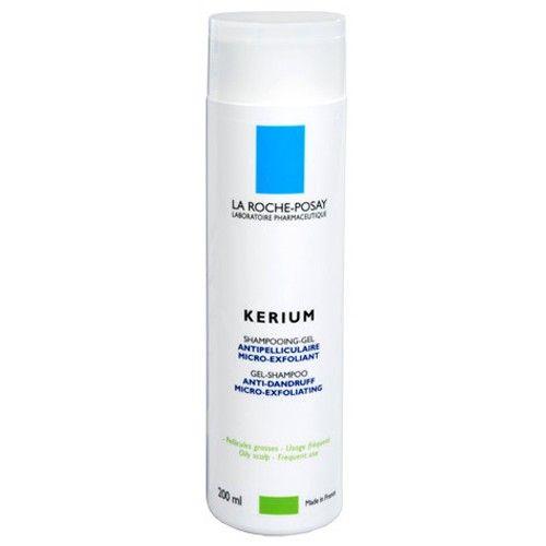 La Roche - Posay Gelový šampon na mastné lupy Kerium 200 ml