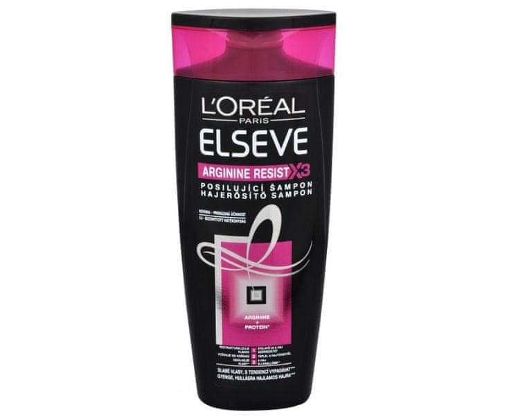 L'Oréal Posilující šampon Elseve Arginine Resist X3 (Objem 400 ml)
