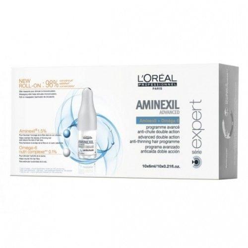 Loreal Professionnel Intenzivní kúra proti padání vlasů Aminexil Advanced (Objem 42 x 6 ml)