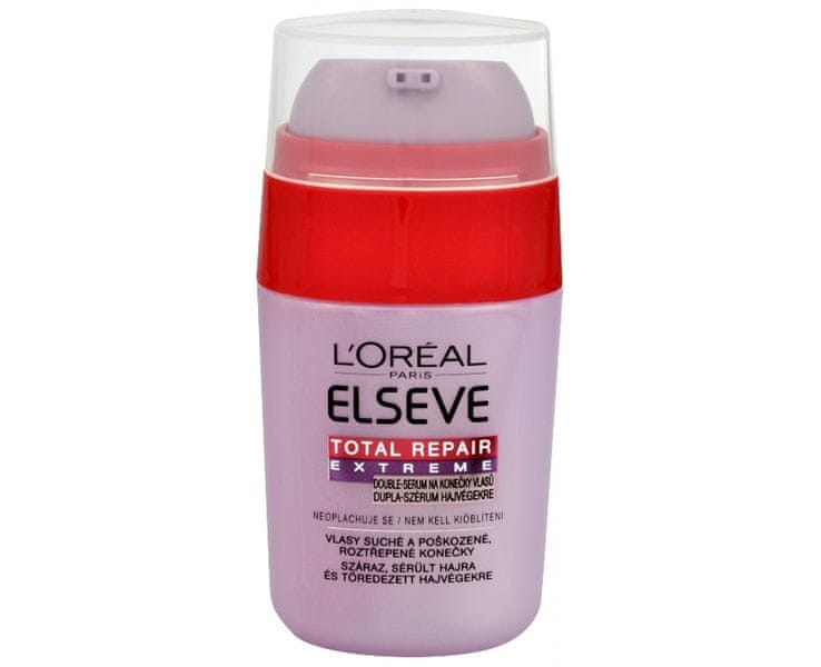 L'Oréal Double-sérum na roztřepené konečky vlasů Elseve Total Repair Extreme 15 ml