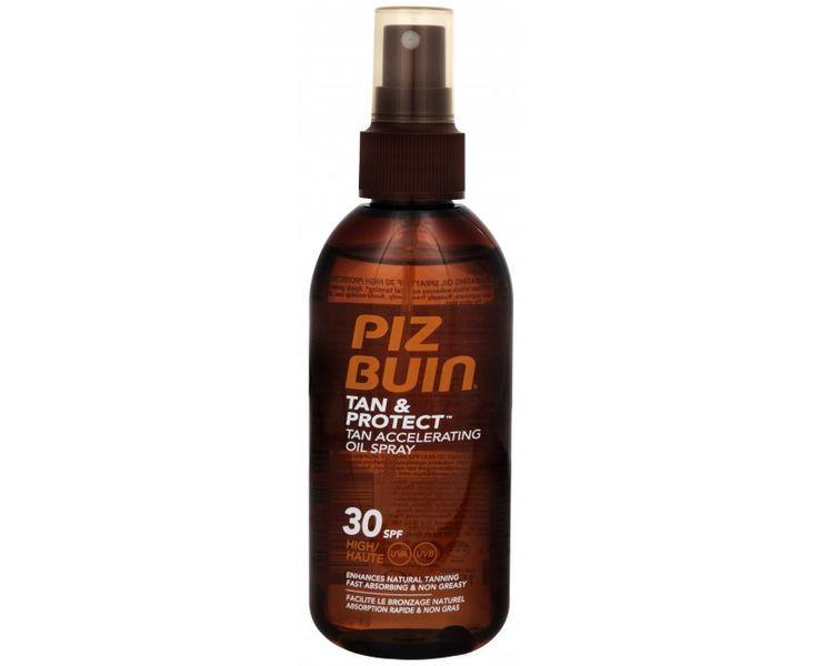 PizBuin Ochranný olej ve spreji urychlující proces opalování Tan & Protect SPF 30 (Tan Accelerating Oil Spra
