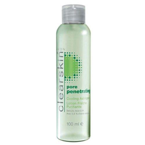 Avon Čisticí pleťová voda proti akné s chladivým účinkem Pore Penetrating (Cooling Astringent) 100 ml