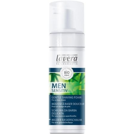 Lavera Jemná pěna na holení pro muže Men Sensitiv (Gentle Shavin Foam) 150 ml