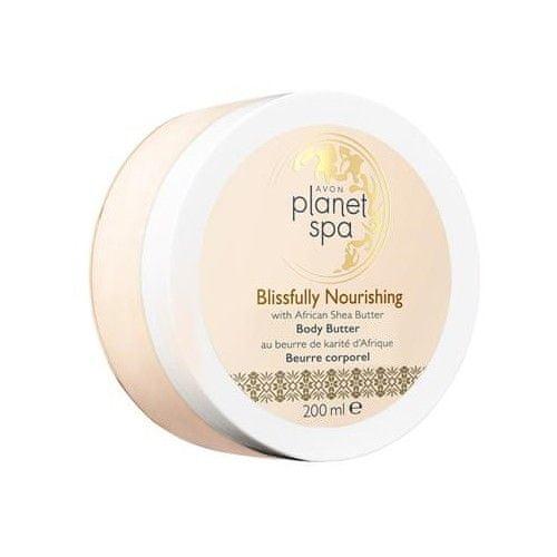 Avon Vyživující tělový krém s bambuckým máslem Planet Spa (Body Butter Blissfully Nourishing with African