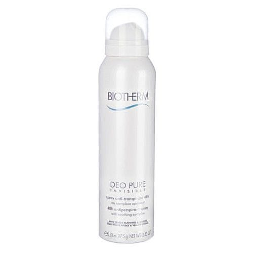 Biotherm 48hodinový zklidňující antiperspirant Deo Pure Invisible (Spray) 150 ml