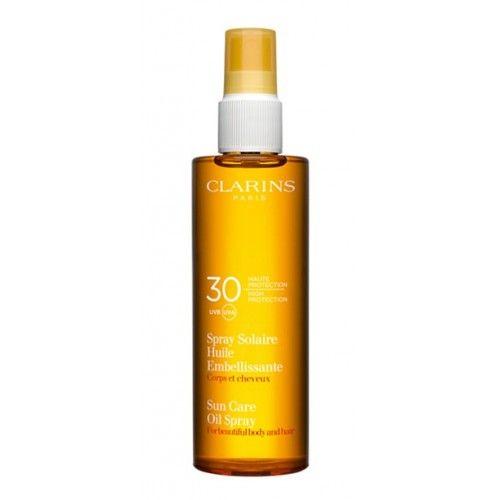 Clarins Opalovací olej ve spreji SPF 30 (Sun Care Oil Spray) 150 ml