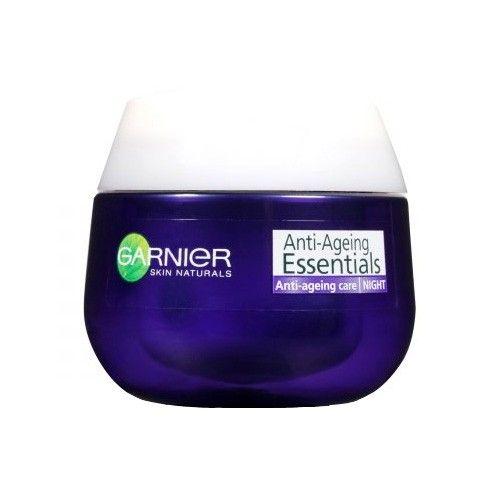 Garnier Noční krém proti vráskám Essentials 55+ (Anti-Ageing Night Care) 50 ml