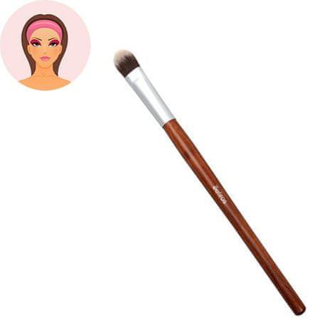 Sefiros Vysoký štetec na očné tiene s rukoväťou z červeného dreva Red Wood (Eyeshadow Brush Large)