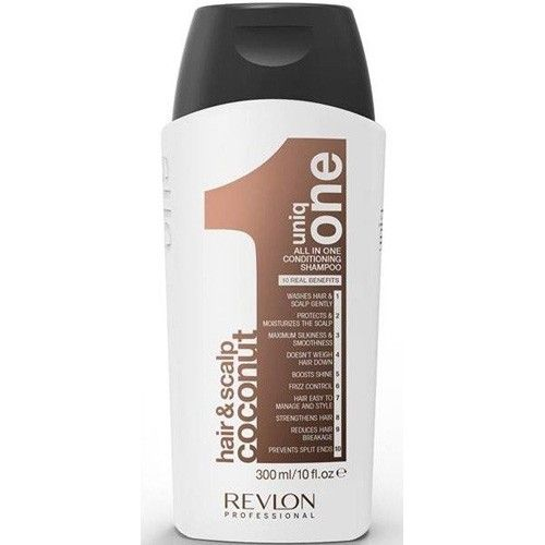 Uniq One Kokosový posilující šampon Uniq One (All In One Conditioning Shampoo Coconut) (Objem 300 ml)