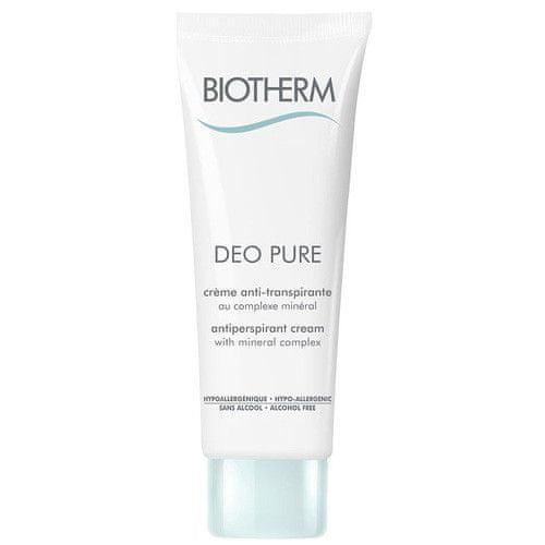 Biotherm Krémový deodorant Deo Pure Creme (Antiperspirant Cream) 75 ml